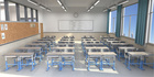 学校开学了,教室课桌椅怎么选合适?