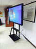 显奇65寸红外教育一体机十点触控触摸屏