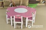 幼儿园阅读桌梅花桌