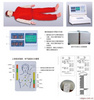 心肺复苏模拟人,心肺复苏训练模拟人,安全培训模拟人,救护训练模拟人,急救救援培训模型