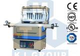 1500℃双温区开启式管式炉OTF-1500X-II