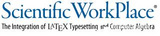 Scientific Workplace—科学论文排版软件