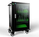 ipad 平板电脑充电柜 Ipad充电车 移动终端智能集中管理推车