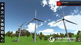 新能源仿真,風能、水力、太陽能光伏發電三維仿真實訓系統