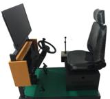 硕博095型装载机车模拟机,装载机模拟器,装载机模拟实操考核设备