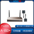 AWIND奇机A-810+无线投屏器4台电脑mac笔记本同时同屏1体机投影机