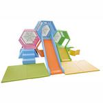 河北维德尚厂家直销儿童滑梯、儿童木制滑梯组合、快乐城堡儿童滑梯