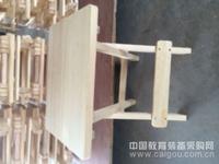 兴程美术用品/厂家直销美术类画架教育配送木质折叠写生凳 实木美术方凳静物台工作台