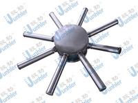 上海駿勒junhler不銹鋼布水器 中排 進水裝置 圖紙定做出貨快