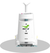 消毒机器人|清洁机器人|瑞兽小超消毒清洁机器人