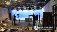 新闻访谈演播室高清虚拟演播室系统真三维虚拟演播室虚拟场景