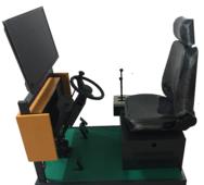 碩博095型裝載機車模擬機,裝載機模擬器,裝載機模擬實操考核設備