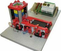 慧鱼工业模型-料仓与仓储传输带