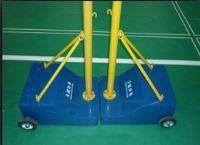 羽毛球场凹凸箱移动式羽毛球柱