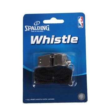 斯伯丁【SPALDING】新款秋季新款篮球比赛裁判用塑料口哨 8330CN