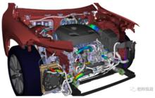 IPS — 线束和软管受力与动态变形三维仿真