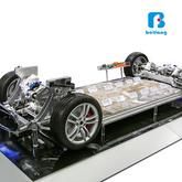 汽車教學設備 汽車教具 新能源汽車教具 特斯拉底盤系全剖析智聯互動系統 免費師資培訓 廠家直銷 提供課程及教材