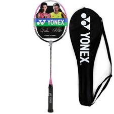 【尤尼克斯】MP2 深枪灰/粉 尤尼克斯YONEX 羽毛球拍单拍 MUSCLE POWER2