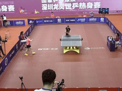 浩康布紋乒乓球地板賽事專用地板