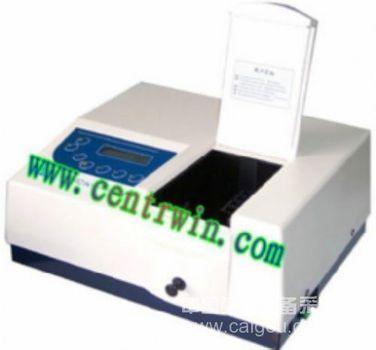 紫外-可见分光光度计/紫外分光光度计(可变狭缝) 型号:SMYUV-7502PC