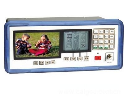 彩色监视CATV综合测试仪器 QAM多功能彩色监视数字电视测试仪