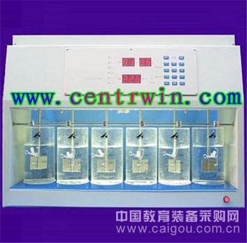 程控混凝试验搅拌器/六联搅拌器 型号:HL-KTJ6-1
