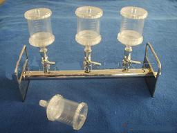 薄膜过滤器(4联带泵) 型号:HAD/SHG-4
