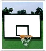 供应篮球场篮球架玻璃钢篮球板