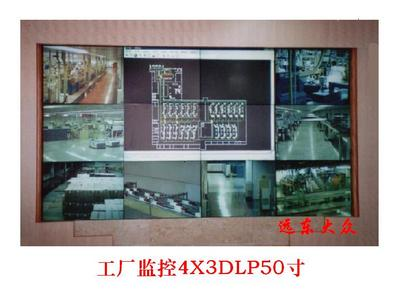 DLP拼接投影墙