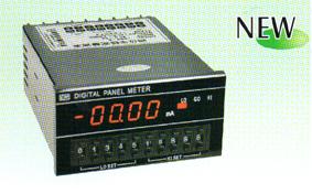 四位半数字显示带上中下限设定交流电压表头