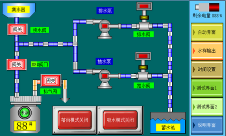JL-RG10型智能雨水取样器