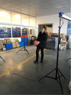 排球垫球测试仪