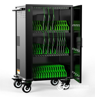 iPad 平板电脑充电柜 电子书包柜 笔记本集中管理充电箱 移动推车