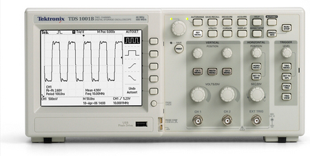 泰克TDS1000B系列数字存储示波器