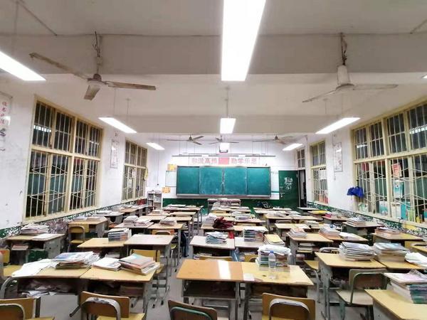 岳陽平江各中學護眼照明改造案例-星奧照明
