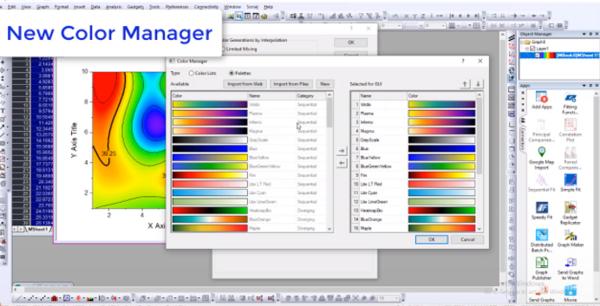 OriginPro图形可视化和数据分析软件2021版本已正式发布