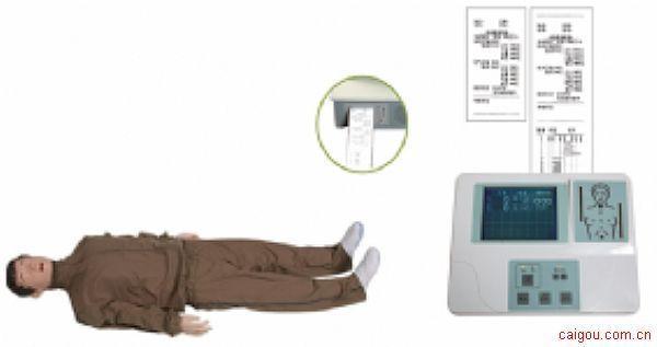 KAD/CPR500大屏幕液晶彩显高级全自动电脑心肺复苏模拟人(男)