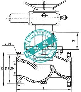 电动排泥阀J944X