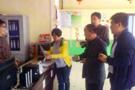 新泰幼儿园食堂大检查 保障孩子用餐安全