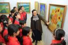 流动美术馆,将专业艺术殿堂搬到孩子身边