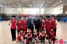石家庄中华大街小学篮球队将代表河北赴京参赛