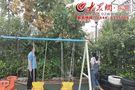 东营区阳光幼儿园开展汛期安全大排查