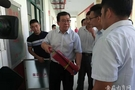 亳州市政府檢查中心城區新建成學校開學工作