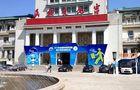 智能佳教育机器人参展2015北京科技周