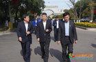 遼寧省教育廳廳長馮守權一行到渤海大學考察調研