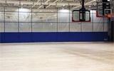 領先凱銳體育館分隔幕電動升降隔離慕電動升降折疊式場地隔離幕