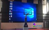 体育馆LED屏电动防护幕