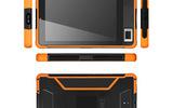 豪盾8寸二維條碼/指紋模塊/NFC數據采集終端金融/醫療/教育/軍工行業支持定制三防平板電腦廠家
