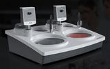 川禾TRUER品牌 FlatBase60+FlatHead-10×2  双盘双控无级调速手动磨抛机