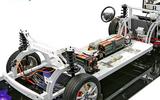 汽车教学实训设备 汽车教具 比亚迪纯电动汽车全车电器模组拆讲实操平台 新能源汽车教学设备